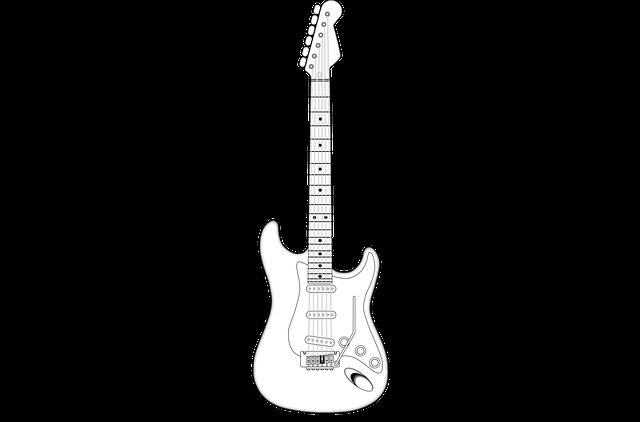 ギターイラスト